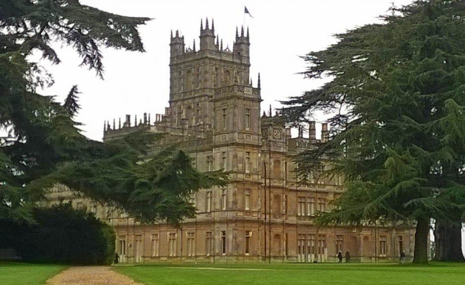 Highclere Castle (Downton Abbey), Hampshire, England