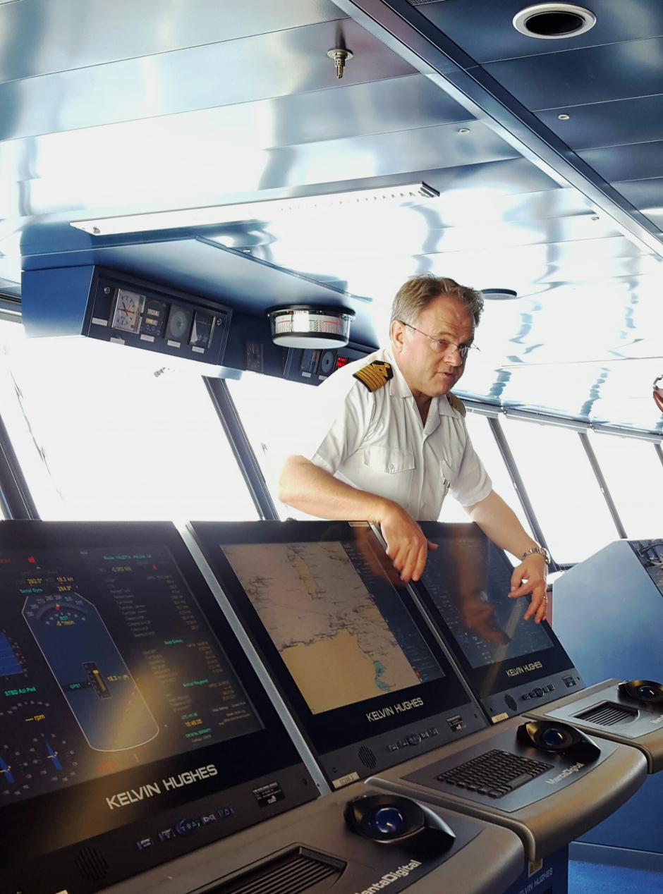 Dispatch from the Bridge of Crystal Serenity