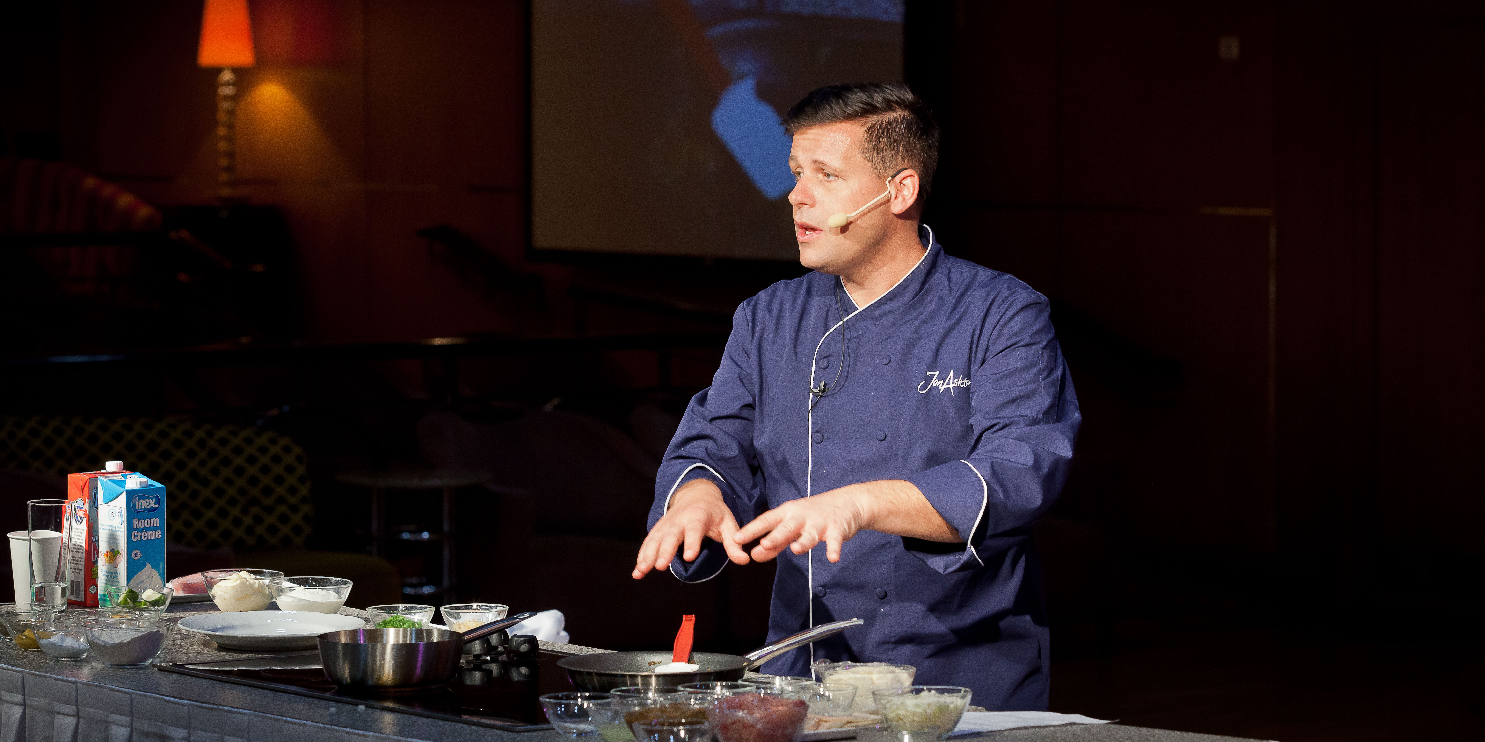Chef Jon Ashton Cooking Demo